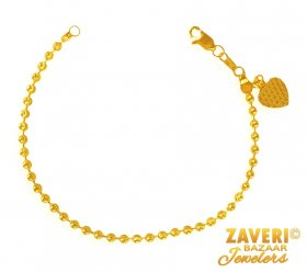 22K Gold Bracelet  ( 22K Ladies Bracelets )