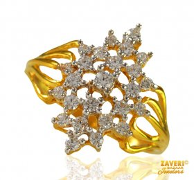 Beautiful Gold Ladies Ring