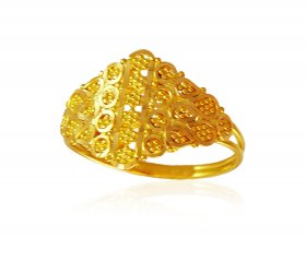 Gold Ring For Ladies ( 22K Gold Rings )