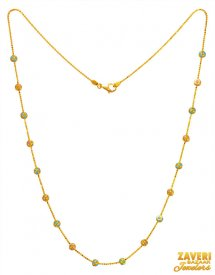 22k Gold Fancy Beads Chain ( Gold Fancy Chains )