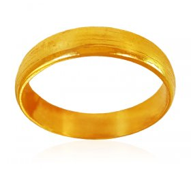 22KT Gold Plain Band