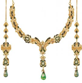 22K Kundan Necklace Set