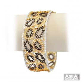 22k Exclusive Designer Kada(1 Pc) ( 22K Antique Bangles )