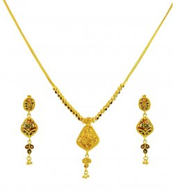 Exclusive Reversible Necklace Set  ( 22K Light Necklace Sets )