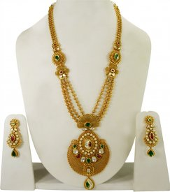 22K Gold Bridal Set ( 22K Necklace Sets (Long) )