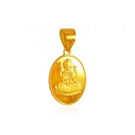 22kt Gold  Laxmi Pendant ( Ganesh, Laxmi, Krishna and more )