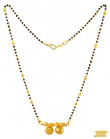 22K Yellow Gold Mangalsutra ( Gold Mangalsutras )