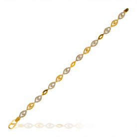 22K Fancy Ladies Bracelet  ( 22K Ladies Bracelets )