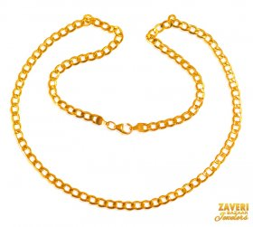 22 KT Gold Link Chain