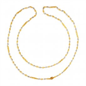 22Karat Gold Long Fancy Chain for Ladies ( Long Chains (Ladies) )