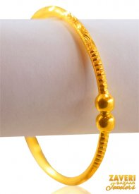 22 Kt Pipe Bangle ( 22K Gold Bangles )