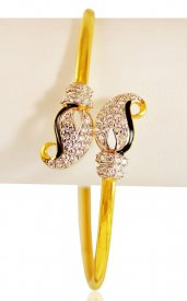 22 Karat Gold Bangle ( Gold CZ Bangles )