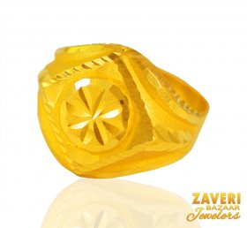 22KT Gold Ring For Mens ( Men`s Rings )