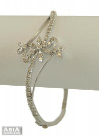 White Gold Diamond Bracelet ( Diamond Bangles )