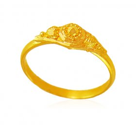 22kt Gold Baby Ring