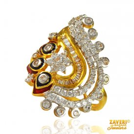 Beautiful 22 Kt Gold Ring ( Stone Rings )