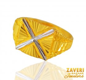 22 Karat Gold Mens Ring ( Men`s Rings )