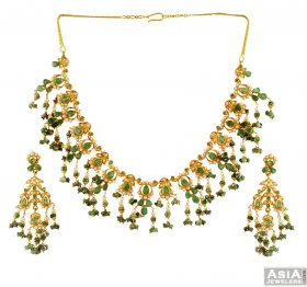 22K Indian Necklace Set